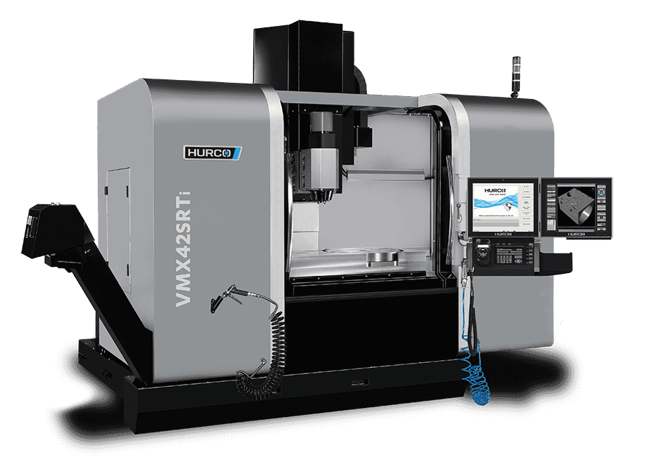 VMX42SRTI : 5-AXIS SWIVEL HEAD & ROTARY TABLE